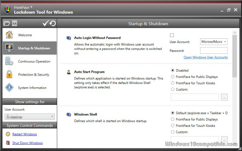 FrontFace Lockdown Tool 1 2 0 Free download